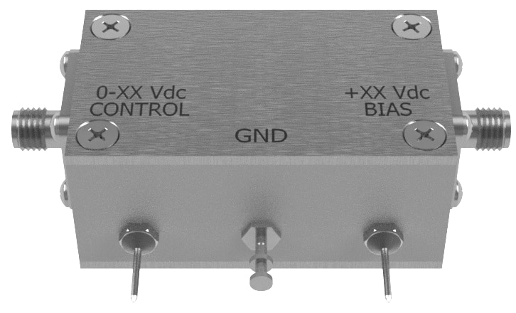 Analog programmable attenuator with SMA female