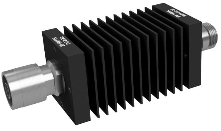 30 Watt fixed attenuator wit N male/female