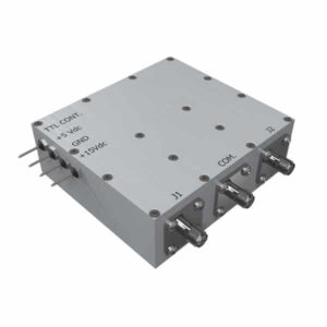 Medium Power Solid-State Coaxial Switch