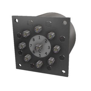 Electro-Mechanical Coaxial Switch