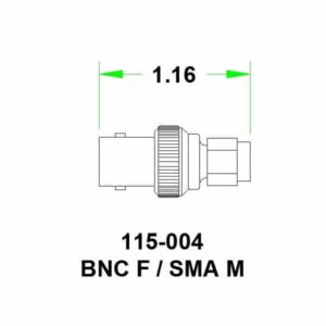 SMA Male to BNC Female Adapter