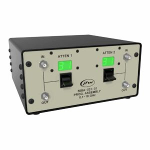 Dual Channel Benchtop Programmable Attenuator Assembly
